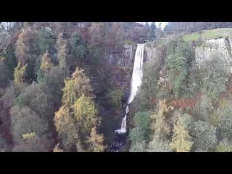 Llanrhaeadr-ym-Mochnant Drone Video