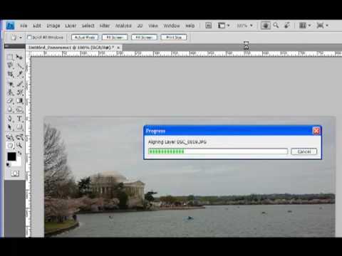Photoshop Tutorial – Panorama Using Photoshop's Photomerge