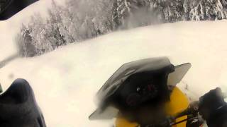 8. skidoo mxz 550 tnt 2012 run in january