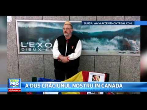 Colinde romanești la Montreal, tradiție și cultură peste hotare cu Adrian Ardelean