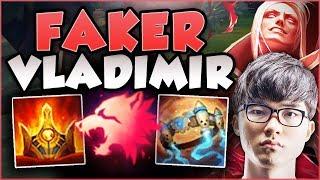 Video JUST HOW BROKEN IS FAKER'S NEW VLAD BUILD? VLADIMIR SEASON 8 TOP GAMEPLAY! - League of Legends MP3, 3GP, MP4, WEBM, AVI, FLV Agustus 2018