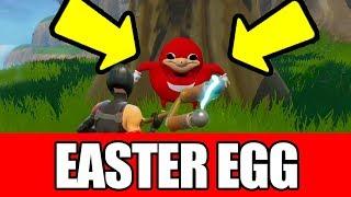 FORTNITE the SECRET UGANDAN KNUCKLES Do You Know De Wae Easter Egg! (ft. ShoulderShot)