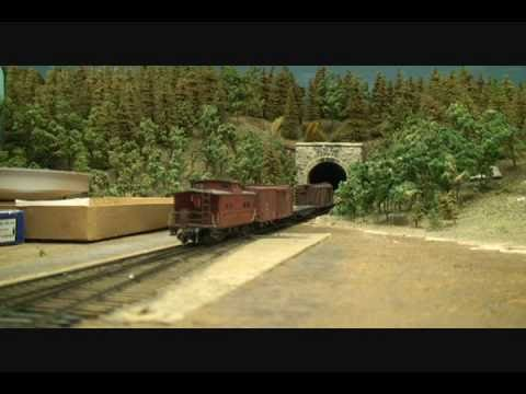 1930s Style Large HO Scale Model Train Layout