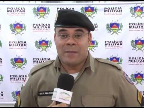 Ocorrência Policial com vítima de acidente de trabalho em Urucuia
