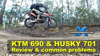 10. KTM 690R HUSQVARNA 701 REVIEW, KNOWN ISSUES & PROBLEMS