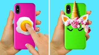 Video 17 COOL PHONE CASE IDEAS TO MAKE YOUR DEVICE BRIGHTER MP3, 3GP, MP4, WEBM, AVI, FLV April 2019