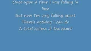 Video Total Eclipse Of The Heart - Bonnie Tyler Lyrics MP3, 3GP, MP4, WEBM, AVI, FLV Juli 2018