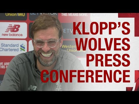 Video: Jürgen Klopp's pre-match press conference | Wolves