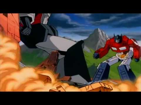 Transformers: The Movie (1986) - Optimus Prime V.s. Megatron[HD]