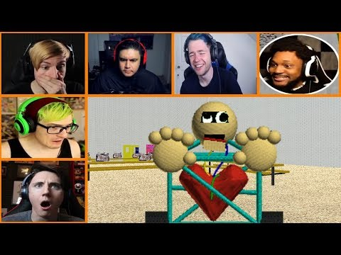 Let's Players Reaction To 1st Prize | Baldi's Basics In Education And Learning