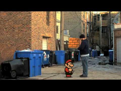 當馬力歐跑到真實世界時…我笑了!