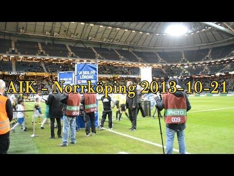 AIK - IFK Norrköping 1-0 (2013-10-21)
