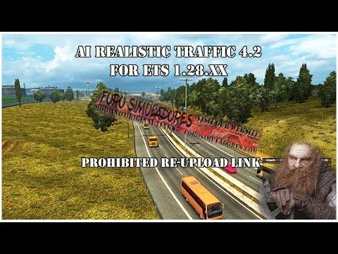 Realistic traffic v4.2 by Rockeropasiempre for 1.28.x