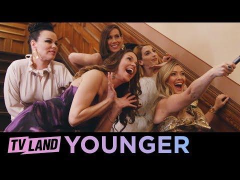 Younger Photoshoot (Season 6) BTS Key Art   Younger   TV Land