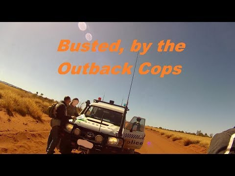 Law Breaking Adventure Riders In The Australian Outback