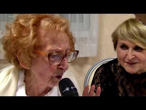 Iside Maestri celebrates her 100th birthday