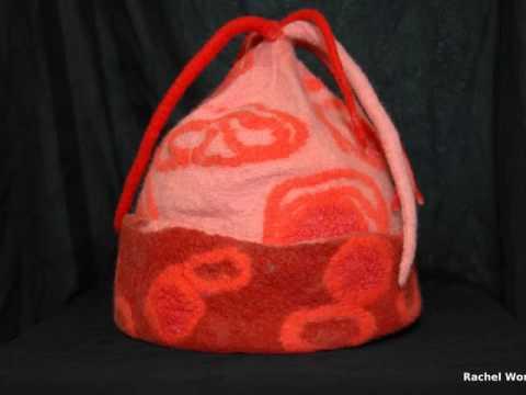 Handmade Wool Felt Hats by barbara poole for B. Felt