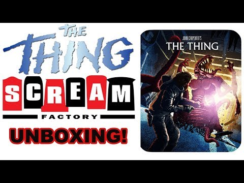 SCREAM FACTORY The Thing (1982) Blu-ray STEELBOOK Unboxing!