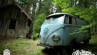 Video RESURRECTION - Rescue of a VW 1955 panelvan - Forest find ! MP3, 3GP, MP4, WEBM, AVI, FLV April 2019