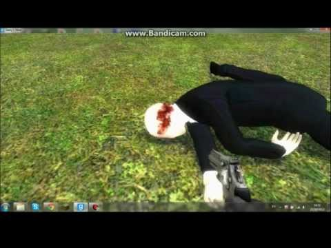 First video! Slender man gets a hard time on Gmod