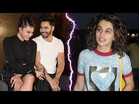 Taapsee Pannu Jealous INSECURE Of Varun Dhawan and