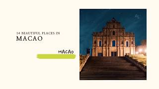Macao photo book with beautiful photography of Macau. Find out more at https://travel2next.com/ Travel channel of amazing...