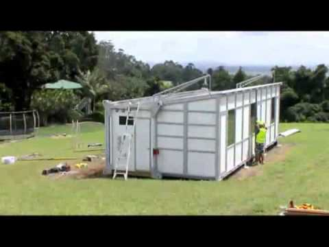 Hayz fold-out transportable homes – uninstallation in 3 hours