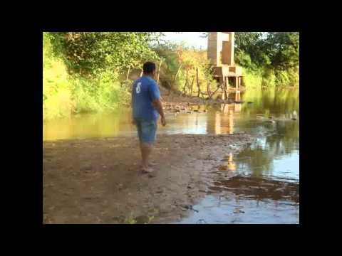 Rio Gurguéia em Canavieira