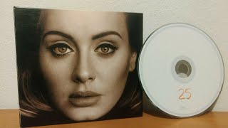 Unboxing: Adele - 25 - Deluxe Edition