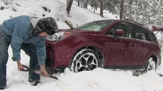 2014 Subaru Forester Off-road Snowy Misadventure&Review