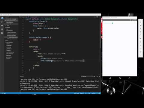 Learn about Components and input controls in React Native - Part 4