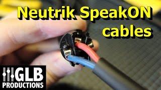 Video How to wire Neutrik SpeakON cables MP3, 3GP, MP4, WEBM, AVI, FLV Desember 2018