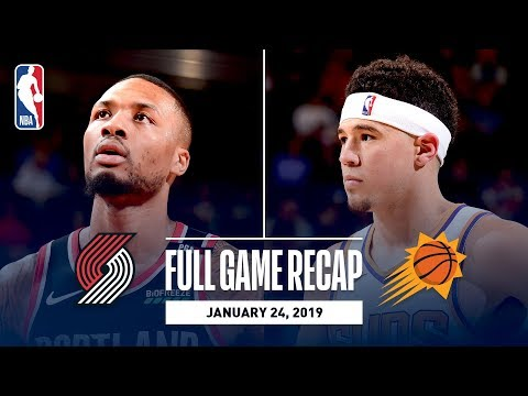 Video: Full Game Recap: Trail Blazers vs. Suns | Three Trail Blazers Go For 20 Or More Points