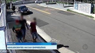 Adolescente apreendido é suspeito de matar empresário de Marília