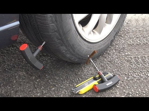 Video DIY How to Fix a Rear Flat Tire EASY download in MP3, 3GP, MP4, WEBM, AVI, FLV January 2017