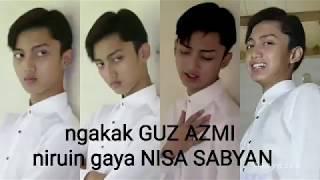 Video Lucunya Guz Azmi niruin gaya Nissa Sabyan bikin gemez MP3, 3GP, MP4, WEBM, AVI, FLV Mei 2019