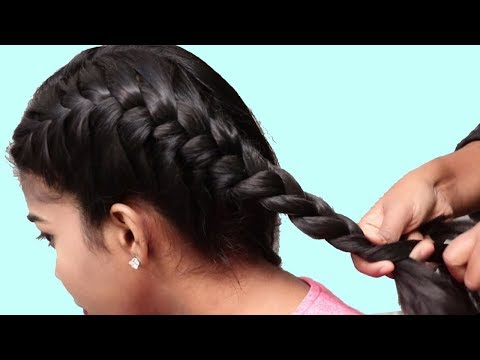 Braid hairstyles - Quick hairstyles for school girls  Double Braided Hairstyles 2018  Back to school Hairstyles