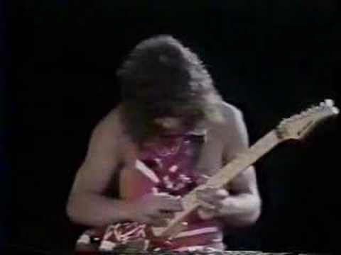 ERUPTION - Eddie Van Halen's Eruption guitar solo. Different from original recording, this is the live version.