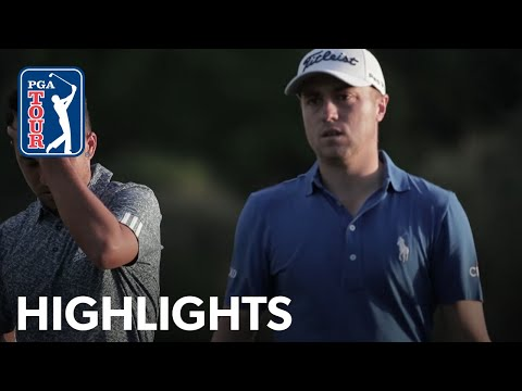 Justin Thomas39 Winning Highlights From The 2020 Sentry Tournament of Champions