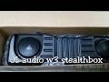 Jl Audio W3 Stealthbox Install