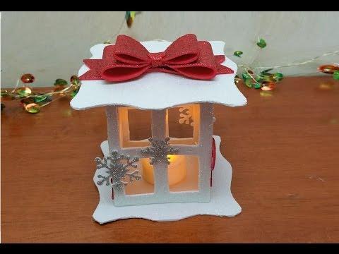 fai da te - lanterna natalizia