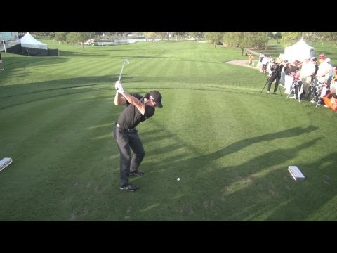 GOLF SWING 2013 – RORY MCILROY IRON DRIVE – ELEVATED DTL REGULAR & SLOW MOTION – 1080p HD