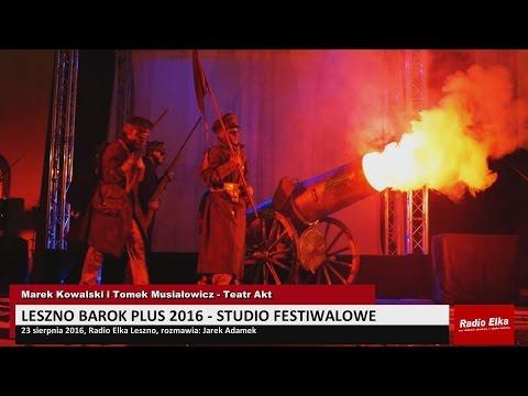 Wideo1: Leszno Barok Plus - Studio festiwalowe 23.08.2016