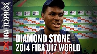 2014 Diamond Stone Interview - DraftExpress - FIBA U17 World Championships