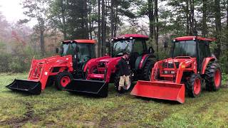 3. Ag Utility Tractor Comparisons - Mahindra 6065, Kubota M5700 ( M7060) , Kioti RX6620