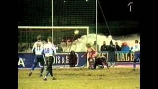 Henrik Larssons erster Treffer für Schweden