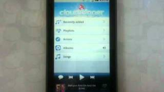 Cloudskipper Music Player YouTube video