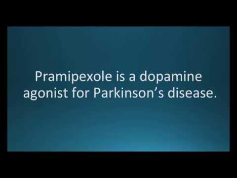 How to pronounce pramipexole (Mirapex ER) (Memorizing Pharmacology Flashcard)
