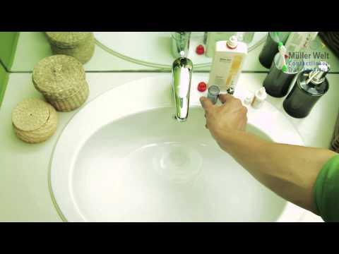 Sklerallinsen reinigen