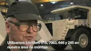 Aplicaciones Loctite En Vehiculos Terex OEM.